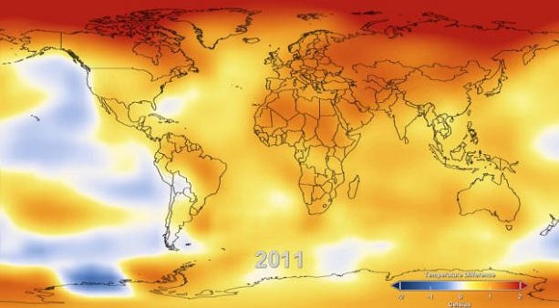 повышение температуры на Земле
