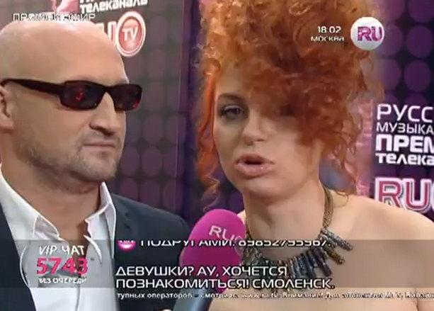 Гоша Куценко и Ирина Забияка
