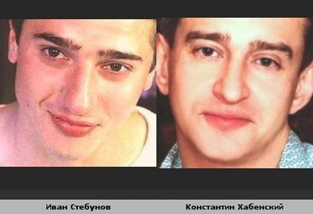Константин Хабенский и Иван Стебунов