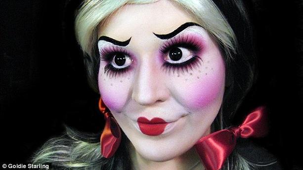 кукла Хеллоуин