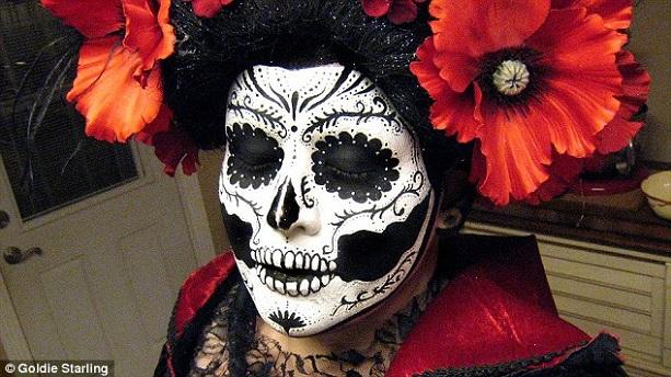 декоративный череп Хэллоуин