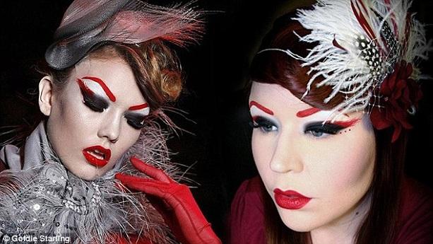 Искусительница макияж