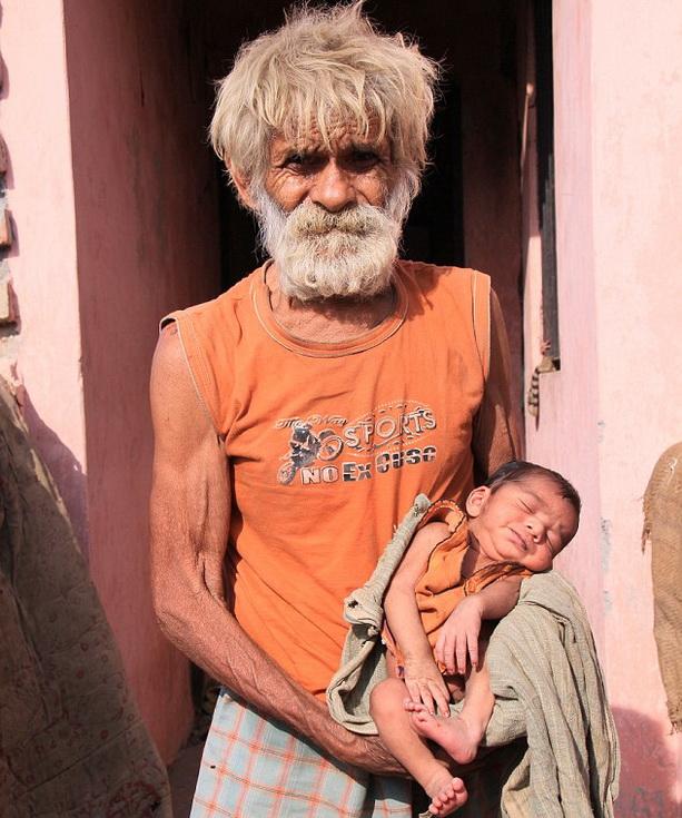 Старейший отец в мире