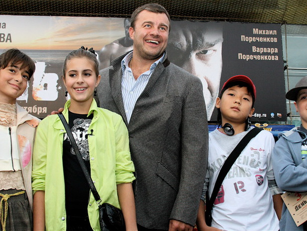 Михаил Пореченков дети