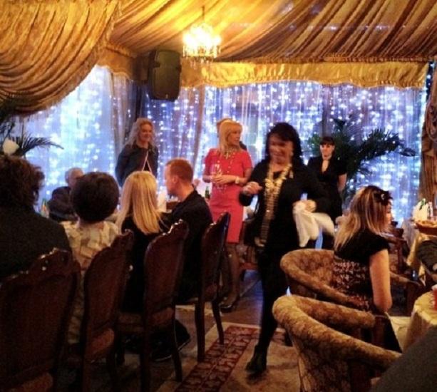 фотографии свадьба Оксаны Пушкиной