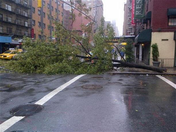 Ураган Сэнди Нью-Йорк