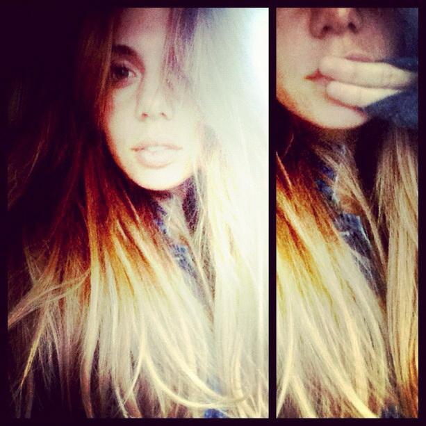 Анна Седокова блондинка