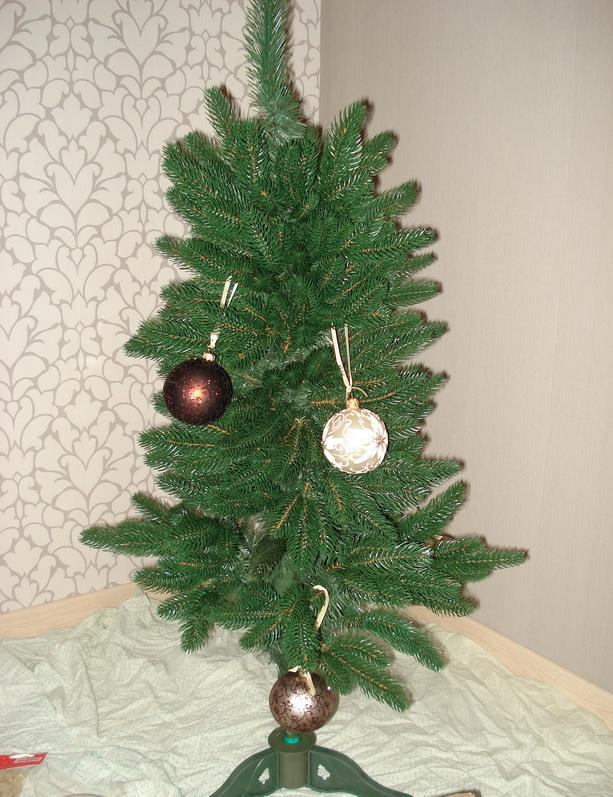 декорирование новогодней елки фото