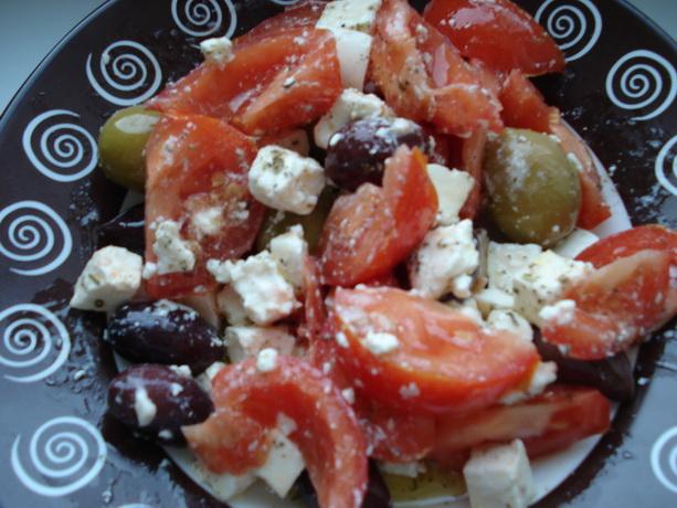 рецепты салатов из феты