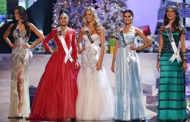 Мисс Вселенная 2012 фото финалисток