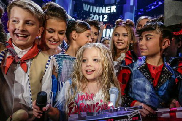 Победитель детского Евровидения 2012 Анастасия Петрик