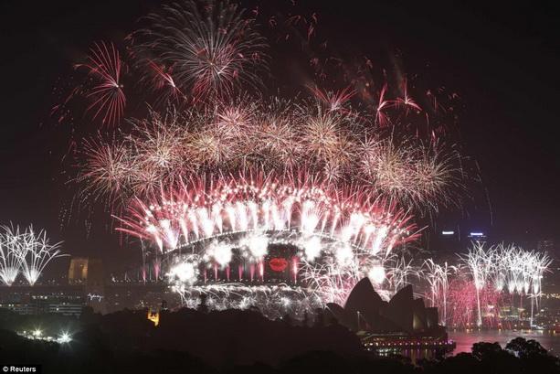 праздноватние Нового 2013 года Сидней
