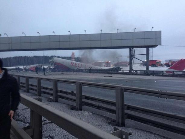 Вести Ru: Крушение самолета А321: первое видео