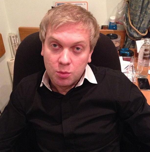 Сергей Светлаков после пьянки