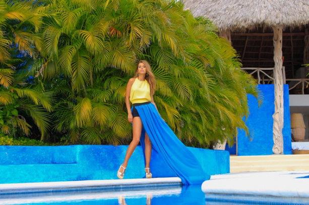 Виктория Боня в Мексике