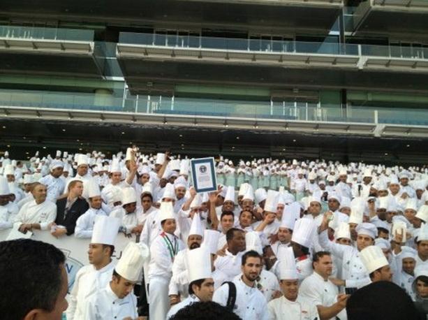 В Дубаи отмечено самое большое собрание шеф-поваров в мире