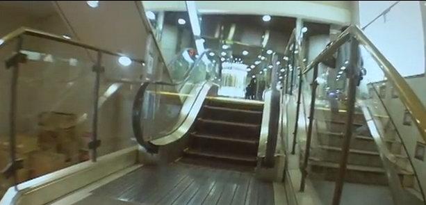 Самый маленький эскалатор