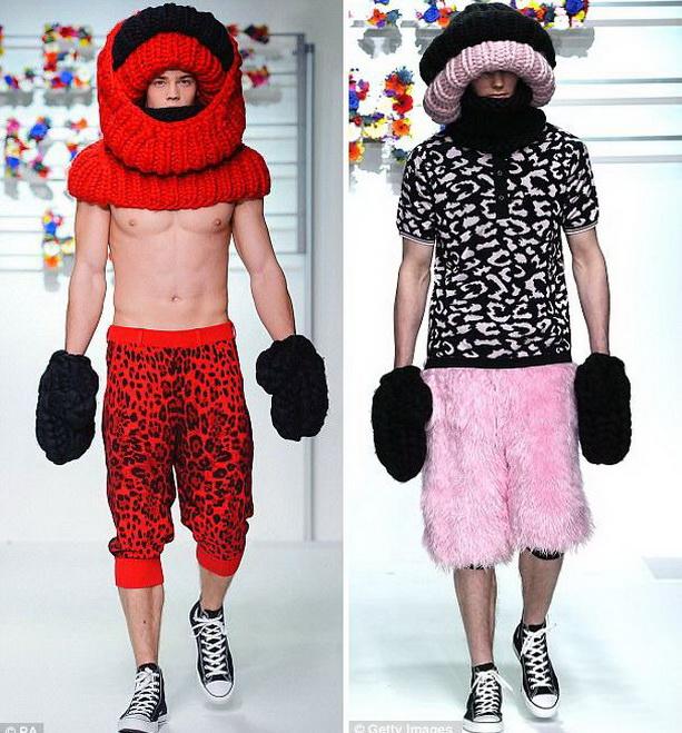 странная мужская одежда