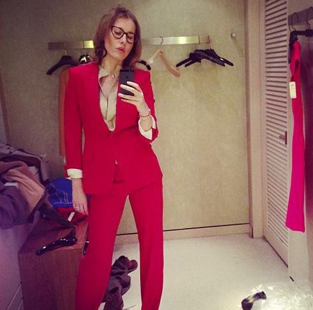 Ксения Собчак костюм
