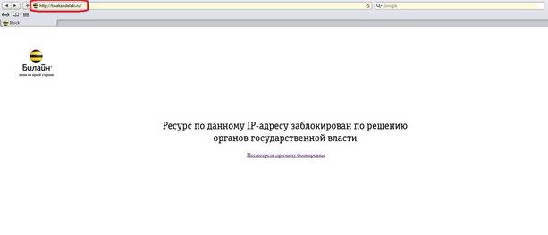 Сайт Тины Канделаки