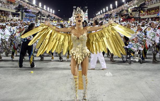золотой костюм жар-птица