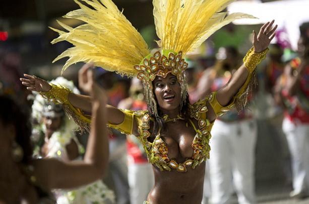 бразильский карнавал самба