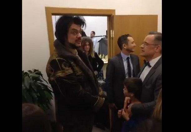 Филипп Киркоров и пастор Маттс-Ола