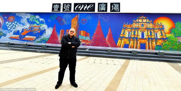 стена из Кубиков Рубика в Торонто