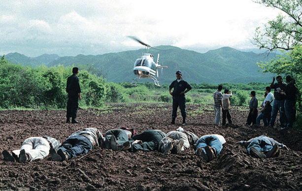 Убитые на поле марихуаны