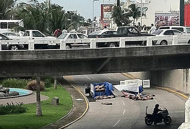 Трупы полиции в Веракруз