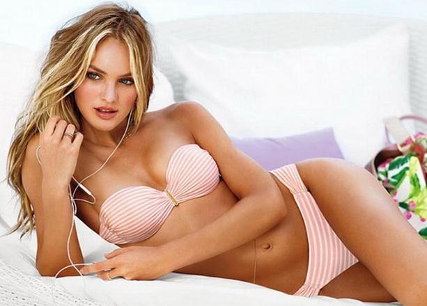 Victoria's Secret купальник в полоску