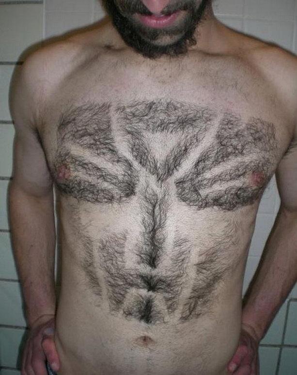 Трансформер на груди