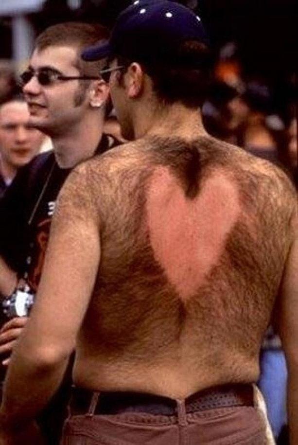 Сердце на спине