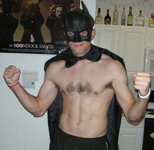 Стрижка бэтмена