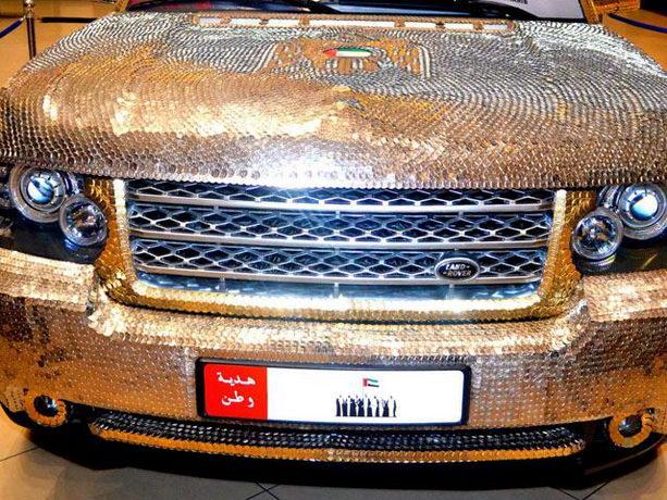Range Rover в монетах