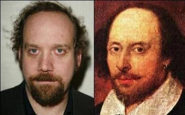 Пол Джаматти и Уильям Шекспир