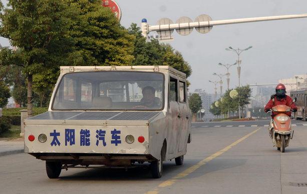 Чэнь Шунгуи собрал автомобиль