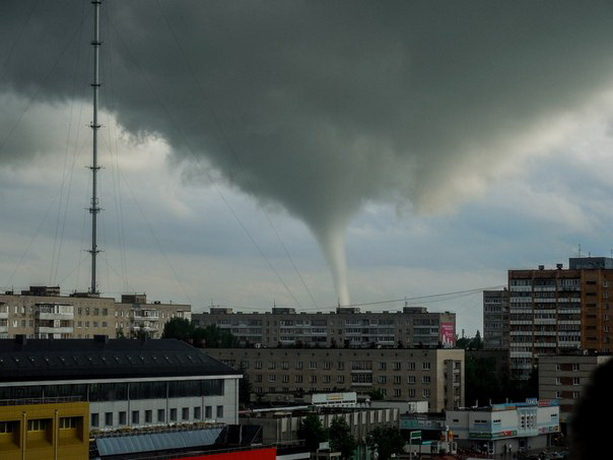 Смерч в Обнинске