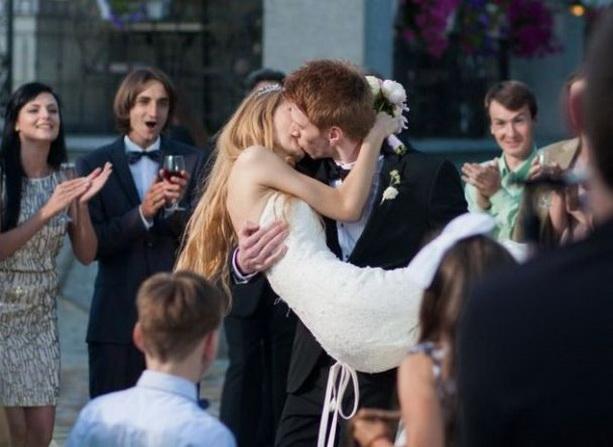 Фото со свадьба пугачевой с галкиным