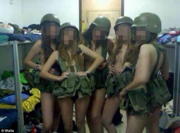 Израильтянки-военнослужащие