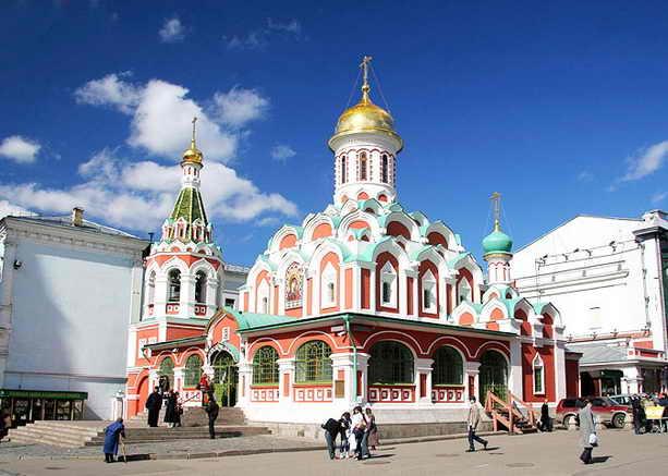 Казанский собор Красная площадь