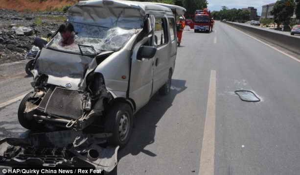 Автокатастрофа в Китае