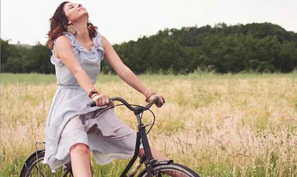 Велосипед с вибратором порно