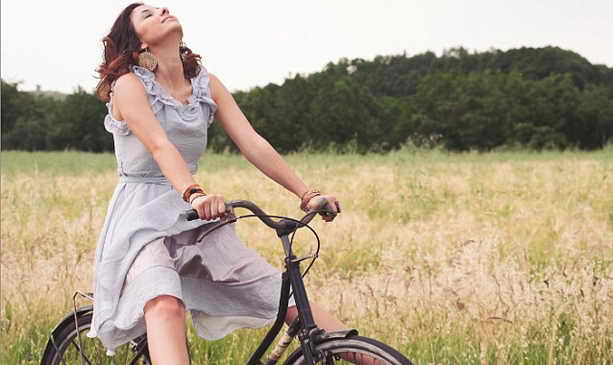 Велосипед с вибратором