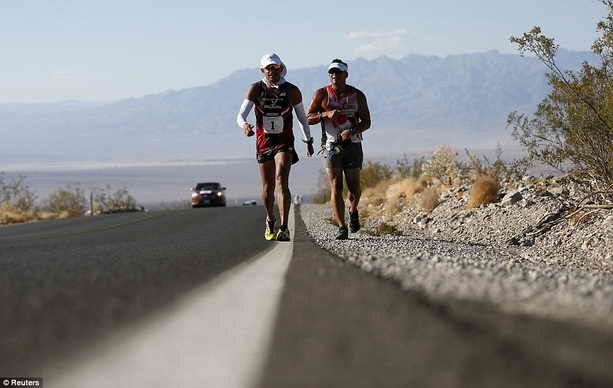 Супер марафон по Долине Смерти