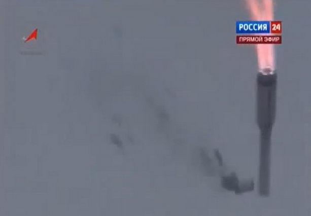 Ракета Протон-М взорвалась и упала