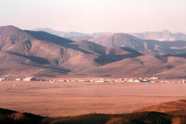 секретная база 51 в Неваде