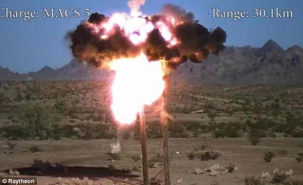 Снаряд Excalibur с GPS