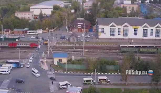 ЧП на перезде Щербинка