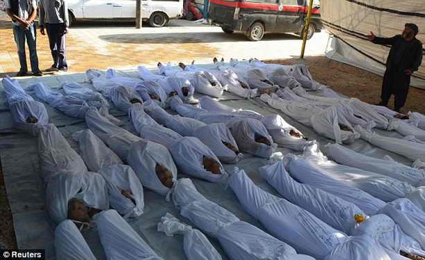 Жертвы химической атаки